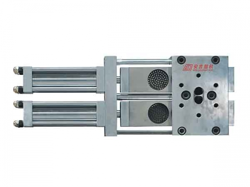 Double-plate Continuous Screen Changer