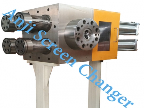 Four-piston Continuous Screen Changer with Large Filtration Area