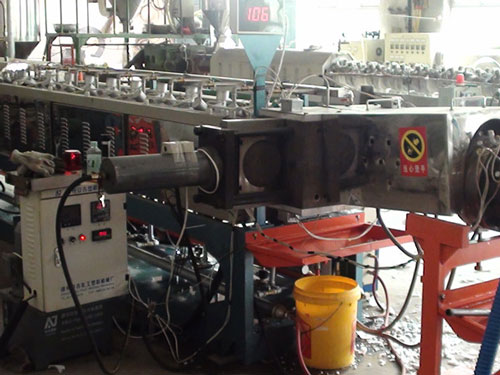 AJX type screen changer for EPE foam extrusion line